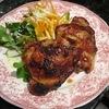 チキンの照り焼き、タラゴンソース
