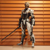 METAL GEAR RISING REVENGEANCE PLAYARTS改 雷電 White Armor Ver.