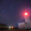【天体撮影記 第119夜】 千葉県 東京湾の入り口を示す洲埼灯台(すのさきとうだい)とオリオン座