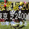 【東京優駿 2020】過去10年データと予想