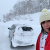 真っ白な道 2019/2 北海道