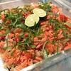 紅鮭のアラでちらし寿司