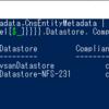 vSphere のクラウド ネイティブ ストレージを PowerCLI で確認してみる。