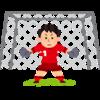 【GK・ゴレイロ】高校女子サッカーの試合から、順手と逆手の使い分けをしっかり覚えよう。