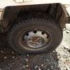 普通タイヤに交換 綺麗 こんなものでも美しくみえたりする Replacing to a regular tire