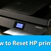 How do I Reset My HP Printer?