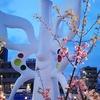 TX万博記念公園駅前の桜🌸