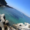 久々のワイド狙いin梶の浜ビーチ