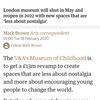 報道記事の見出し(未来のことはto不定詞で表す), be to do ~(ロンドン、ベスナル・グリーンの博物館)
