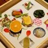 【翡翠之庄 宿泊記】夕食は懐石料理。ヤマメに地元のお野菜、豊後牛! 子供用のお食事も用意してもらえたよ