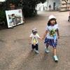 パパ夏休み 動物園①