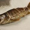 肴の川魚料理【アマゴの燻製】