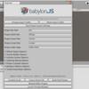 Babylon.js向けデータをUnityから出力する