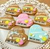 ありがとうの感謝を込めて…(*^▽^*)  ピアノアイシングクッキー♪♪