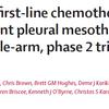 【DREAM】未治療悪性胸膜中皮腫に対するデュルバルマブ+プラチナ+ペメトレキセド療法の6カ月無増悪生存率は57%