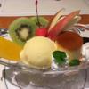 【実は日本発祥】プリンアラモード発祥のお店で人生初のプリンアラモードを食べた