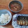 味噌汁と焼き鯖