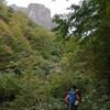 錫杖岳 左方カンテ