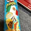 プリングルズ・海外の味メキシカンタコス。どんな味? チーズとトマトで塩辛うまい!
