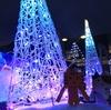 室蘭市 冬のあいだに小さく灯るイルミネーションみたら室蘭