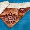 熊本 仏壇三角飾り 打敷 仏壇布飾り 引き取り供養