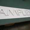 カルプ文字は2色で仕上げることも可能ですよ!