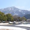 今シーズン初の積雪に。