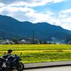 国道427号線で竹田城までバイクツーリング。城の里そばとか黒川温泉とか。