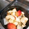 ストウブで塩豚のローストと初めてのパン焼き