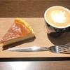大人なコーヒーショップでいただく*しっとりチーズケーキ(it COFFEE @代官山)