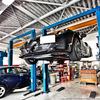 【Alfa Romeo】 4C エンジンオイル交換、ジャッキアップポイント確認とチンアナゴ