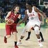 バスケ女子、王者・米国に敗れ8位…後半に点差