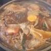 角丸の味噌煮込みうどん(久屋大通)