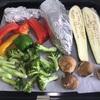 シルクスィートと焼き野菜のランチ