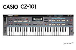 CASIO CZ-101〜 【シンセサイザーのフロンティア〜ヘンテコなシンセたち】Episode 2