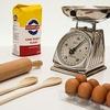 洗い物を減らすための計量方法。キッチンスケールのマイナス側を利用します