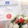 トロントのカレッジを卒業した!