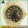 お得 115857【ROLEX】【ロレックス】ヨットマスター 16628NC Y番 K18YG ブラックシェル文字盤 自動巻きRolex メンズ時計