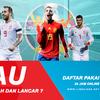 Pasaran Bola Piala Eropa 2020