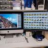 Mac2台モニタ2枚環境からデュアルディスプレイに変えたらやっぱり快適でした(特にLightroom)