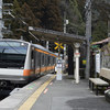 小さな駅の景色