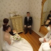 【結婚式当日レポ8】挙式*挙式前に父から娘へ一言・新郎入場