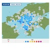 深夜に地震 震度3