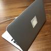 MacBook Airのリンゴマークを消灯する方法がないので、目隠ししました