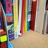本棚を整理しました。