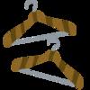 クローゼットのハンガーを再び入れ替えを検討中。