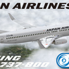 PMDG737NGX用 日本航空(国内線仕様)B737-800 JA301J