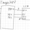 LCDキャラクターディスプレイ / 4ビットモード