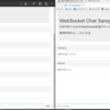 ASP.NET CoreでWebSocketを使用するサンプルを作ってみたよ( `ー´)ノ