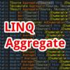 【C#,LINQ】Aggregate~配列やリスト内の情報を集計したいとき~